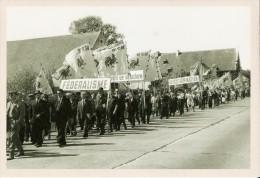 """BELGIQUE (1962) : Manifestation Du Mouvement Populaire Wallon. CARTE 175 DES ARCHIVES DU """"SOIR"""" ( 2005). - Manifestations"""