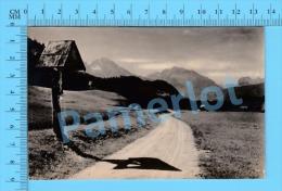 Berchtesgaden  (Weg N.  Au. , Photo  Postcard Carte Postale  ) Recto/Verso - Berchtesgaden