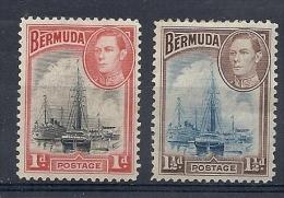 140019080  BERMUDAS  YVERT   Nº  104/5  */MH - Bermudas