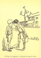CPM Collection POULBOT - Menus Le Cornet 342° Diner 1938 - He Ben, Le Zigoma, C´est Pas Ce Que Tu Crois - 2 Scans - Poulbot, F.