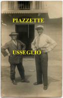 25 Luglio 1929 - PIAZZETTE (USSEGLIO - Valle Di Lanzo - Torino) Negozio ? - Italia