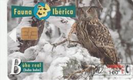 ESPAÑA - FAUNA IBERICA - EL BUHO REAL - OWL -HIBOU - EULE - DE 2000 + 100 PESETAS - España