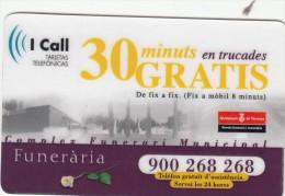 ESPAÑA - FUNERARIA DE TERRASSA - 30 MINUTOS GRATIS - Espagne