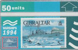 GIBRALTAR 1994  - WARSHIPS - HMS PENELOPE (new - Not Used) - Gibraltar