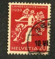 5152  Swiss 1949  Mi.#346z (o) Scott #262  (Cat. 2.50€) Offers Welcome- - Gebraucht