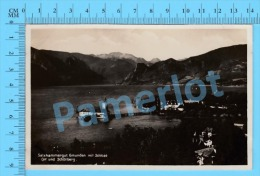 Schonberg ( Salzkammergut Gmunden Mit Schloss Ort Und Schonberg, Photo Postcard Carte Postale ) Recto/Verso - Gmunden