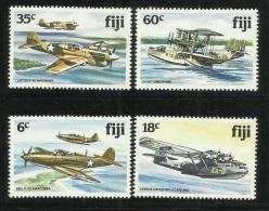 Fiji 1981 Aeroplanes MNH - Fiji (1970-...)