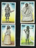 Fiji 1998 Traditional Costumes MNH - Fiji (1970-...)