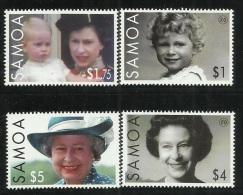 Samoa  80th Birthday Queen Elizabeth MNH - Samoa