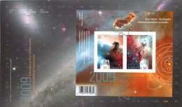 2009   International Year Of Astronomy   Sc 2322  Souvenir Sheet - Premiers Jours (FDC)