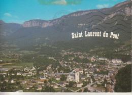 Saint-Laurent Du Pont  (38-isère) Alt 416 M -  Splendide Vue Aérienne De La Ville - Saint-Laurent-du-Pont