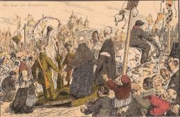 Alfred Ost: Mechelen -Ommegang Der Reuzen Rond Hun Eeuwenoud Paleis - De Reuzenhallen  N° 10. Het Rad Van Avonturen - Malines