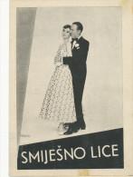 "Film, Movie, Cinema Program - "" FANNY FACE ""  AUDREY HEPBBURN,FRED ASTAIRE -  OLD EX YU MOVIE PROGRAM - Programma's"