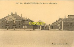 Cpa 59 Armentières, Les Abattoirs - Armentieres