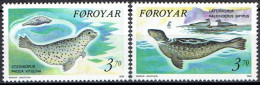 FAROE ISLANDS #  STAMPS FROM YEAR 1992 STANLEY GIBBON  227-228** - Féroé (Iles)