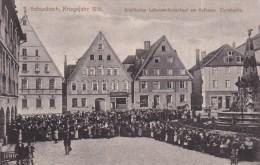 == Schwabach , Lebensmittel Ausgabe,  Eierabgabe !!    Im Krigsjahr 1916 - Schwabach