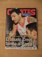 "GIGANTES DEL SUPERBASKET, 539, 27-02-1996. TDK MANRESA, ""CHICHI"" CREUS. - Revistas & Periódicos"