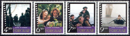 FAROE ISLANDS #  STAMPS FROM YEAR 1997 STANLEY GIBBON  332-335** - Féroé (Iles)