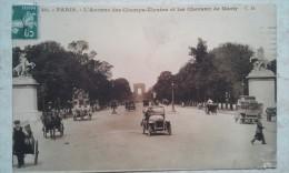 PARIS  Avenue Des Champs Elysées Et Les Chevaux De Marly - Champs-Elysées