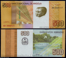 ANGOLA 500 KWANZAS 2012 PICK 155 SC UNC - Angola