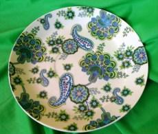 Vintage Scandinavian Sweden Swedish Pottery Indiska HAVELI Plate Bowl - Unclassified