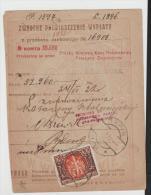Pol039/ POLEN - Geldanweisung Von N.Y. 1922 Mit Mi.Nr. 173 - 1944-.... Republik