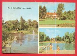 161388 / Bad Klosterlausnitz - NUDE BOY POOL ,  Im KURPARK , MOORBAD , BAD - PAR AVION TO BULGARIA Germany Allemagne - Bad Klosterlausnitz
