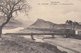 CPA - Tallard - Le Château - La Durance Et Le Roc - France