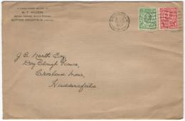 GB - Regno Unito - GREAT BRITAIN - UK - 1937 - Halfpenny + One Penny + Cinderella - Viaggiata Da Birmingam Per Crosla... - 1902-1951 (Re)
