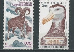TAAF:PA  86/ 87 **  Mouflons Et Albatros - Terres Australes Et Antarctiques Françaises (TAAF)