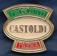 Pin's  ,  Charcuterie Italienne CASTOLDI - Alimentation