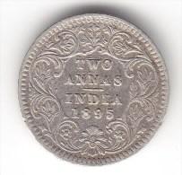 @Y@  INDIA  2 Annas   1895  Error    (2627) - Indien