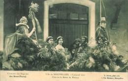 34 MONTPELLIER  Carnaval 1912 Char De La Reine Du Mimosa - Montpellier