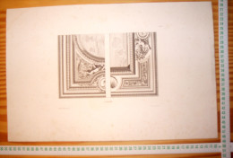 JEAN LEPAUTRE ARCHITECTE LOUIS XIV GRAVURE Ca 28 X 44 Cm Publie Par Decloux Et Doury En 1880 Categorie Architecture R153 - Meubles