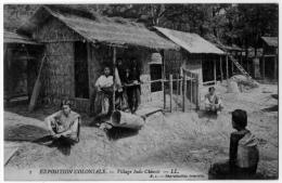 Nogent Sur Marne Expo Coloniale 1907 Vanniers Indochinois  état Superbe - Nogent Sur Marne