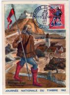 Facteur Courrier Postes Messager Royal Journée Timbre 1962  état Superbe - Other