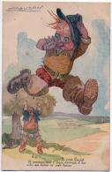 Mauzan Petit Poucet Ogre Bottes 7 Lieues 1940 état Superbe - Mauzan, L.A.