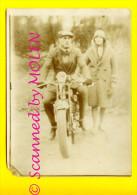 MOTO Motard Motorcycle Velomoteur Motorbike Motocyclette Motor Motorfiets PHOTO Ca 90x120mm FOTO      2802 - Motos
