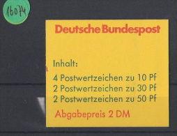 [SOLD] BRD  Markenheft  Postfrisch  MH- MiNr. 22 C MZ - Blocchi