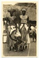 C. Zagourski - L´AFRIQUE QUI DISPARAIT ! Nº 95 - Ruanda. Danseurs. Original Old Real Photo Postcard. - Africa