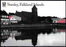ANTARCTIC,FALKLAND ISL.. Color-card, PORST STANLEY  ,look Scan !! 30.1-01 - Antarctische Expedities