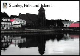 ANTARCTIC,FALKLAND ISL.. Color-card, PORST STANLEY  ,look Scan !! 30.1-01 - Antarctic Expeditions