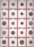 FINLAND SMALL LOT WITH 20 DIFFERENT COINS/YEARS NICE QUALITY - Finlande