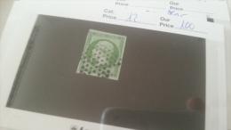 LOT 243325 TIMBRE DE FRANCE OBLITERE N�12 VALEUR 90 EUROS