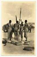C. Zagourski - L´AFRIQUE QUI DISPARAIT ! Nº 139 - Fabrication De La Farine. Original Old Real Photo Postcard. - Africa