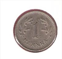 FINLAND 1 MARKKA 1940 KM30 - Finlande