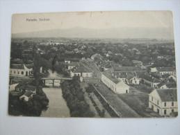 PARACIN  , Karte Um 1915, 2 Scans - Serbia