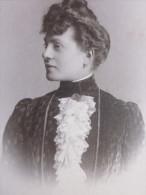 Avant 1900 Portrait De Jeune  Fille Parisienne à La Mode Fashion  Photo Originale Photography Support Carton - Fotos