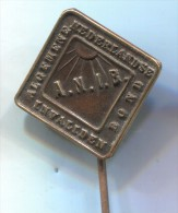 ANIB - Invaliden Bond, Holland Netherlands, vintage pin badge