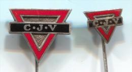 CJV ( YMCA) - Netherlands Holland, vintage pin  badge, enamel